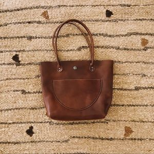 TGR Leatherwork The Bree Bucket Tote